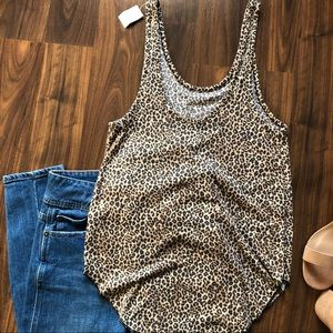 NWT PINK tank top Size M